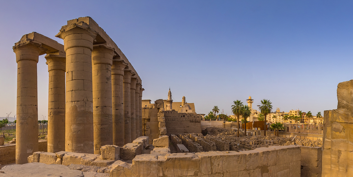 Day 1 : Transfer to Luxor - Visit Attractions of Luxor